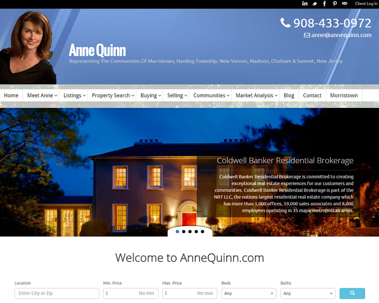 Anne Quinn Summit NJ Realtor