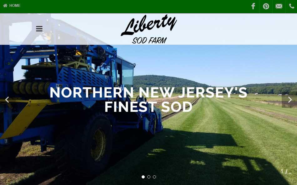 Liberty Sod Farm Launches New Website