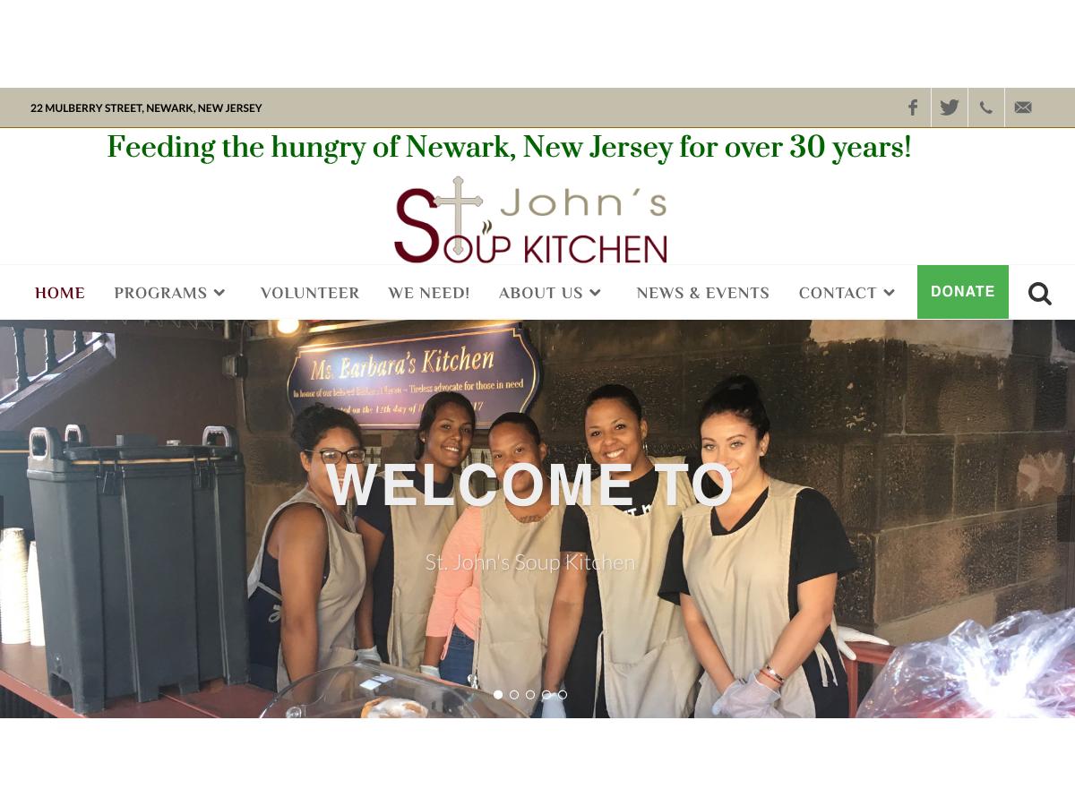 Saint John S Soup Kitchen Newark Nj