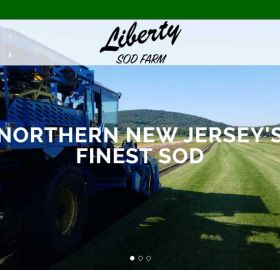 Liberty Sod Farm Website Design
