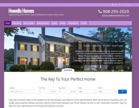 Howells Homes Homepage