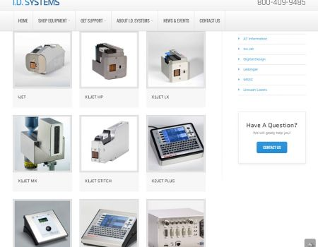 ID Systems Products Listings Page