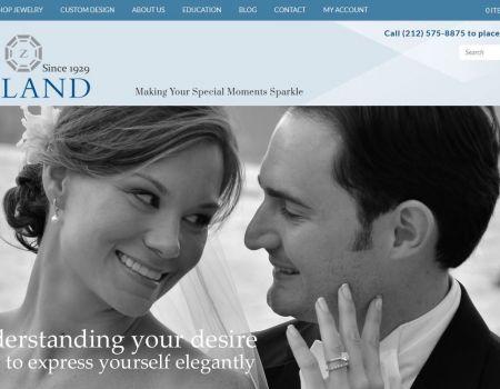 Diamond Jewelry Shopping Cart Web Site