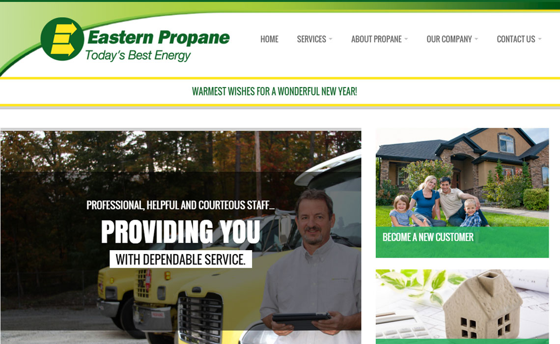 Eastern Propane Home Page