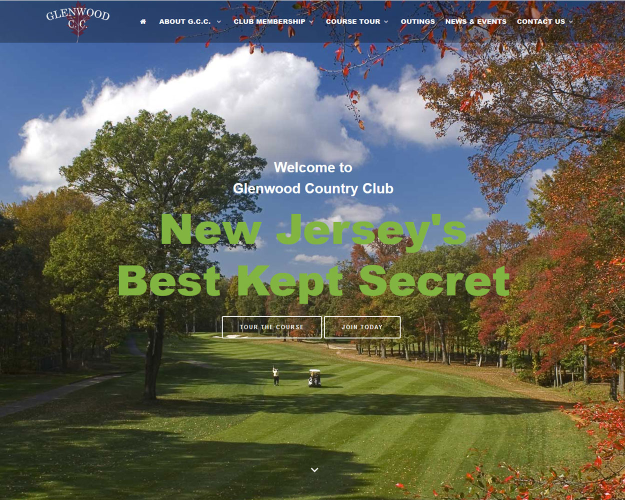 Golf Club Web Design