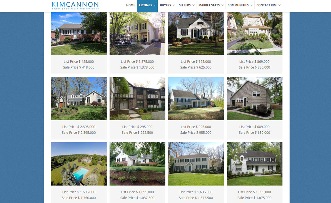 Collection of Recently Sold Properties