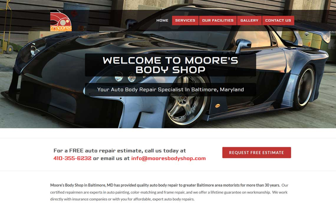 Moores Body Shop