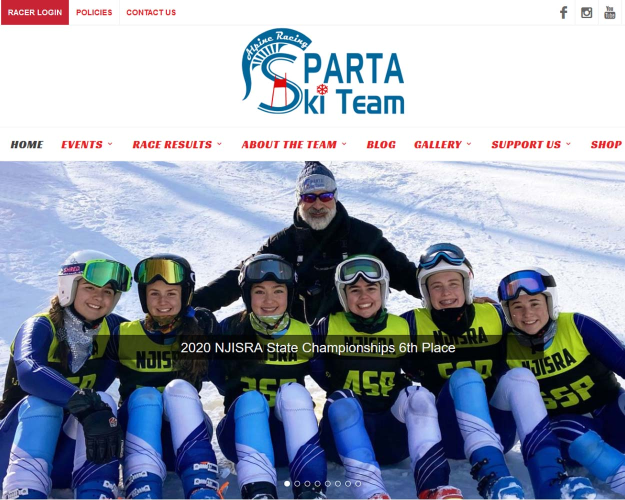 Sparta Alpine Racing Ski Team